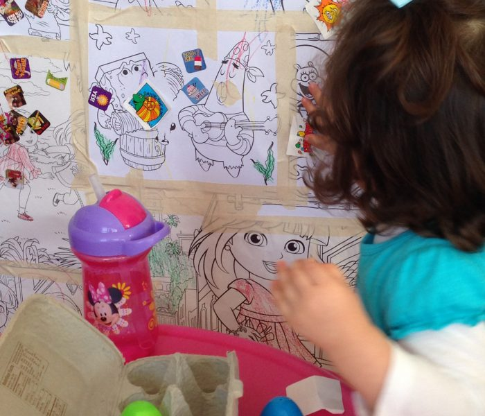 Keeping My Toddler From Writing On The Walls