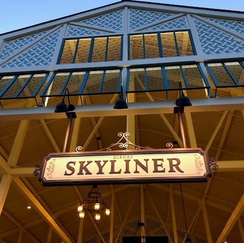 Traveling On Disney's New Skyliner