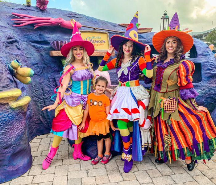 Family Fun at SeaWorld Orlando's Halloween Spooktacular