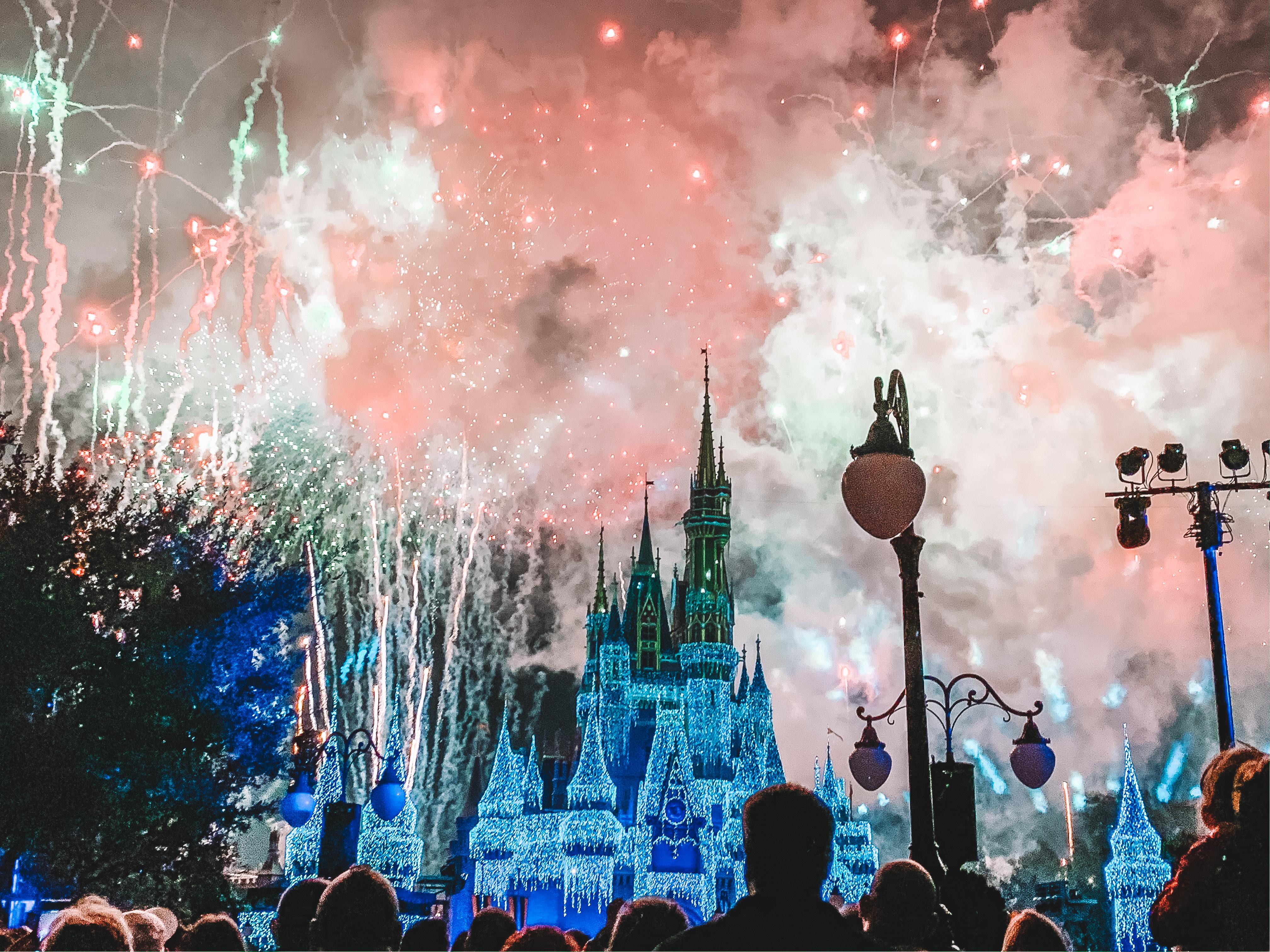 Celebrating New Year's Eve At Disney