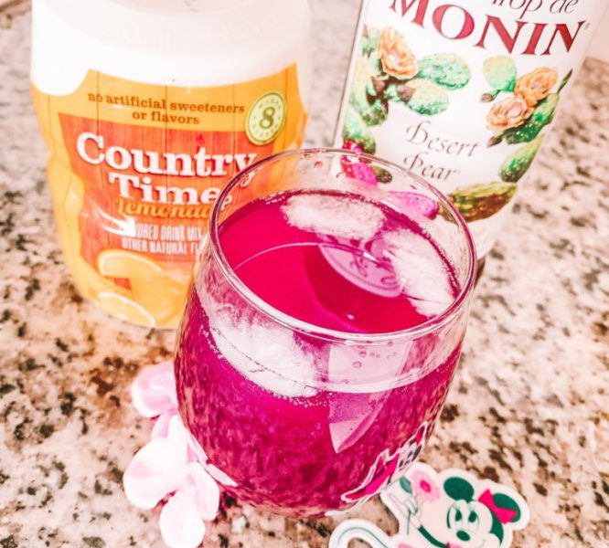 Make Your Own Version Of Flower & Garden's Violet Lemonade At Home