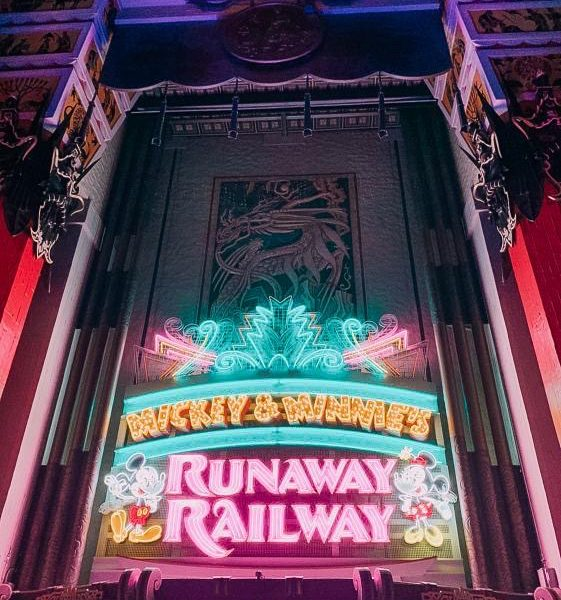 Taking A Ride On Mickey and Minnie's Runaway Railway