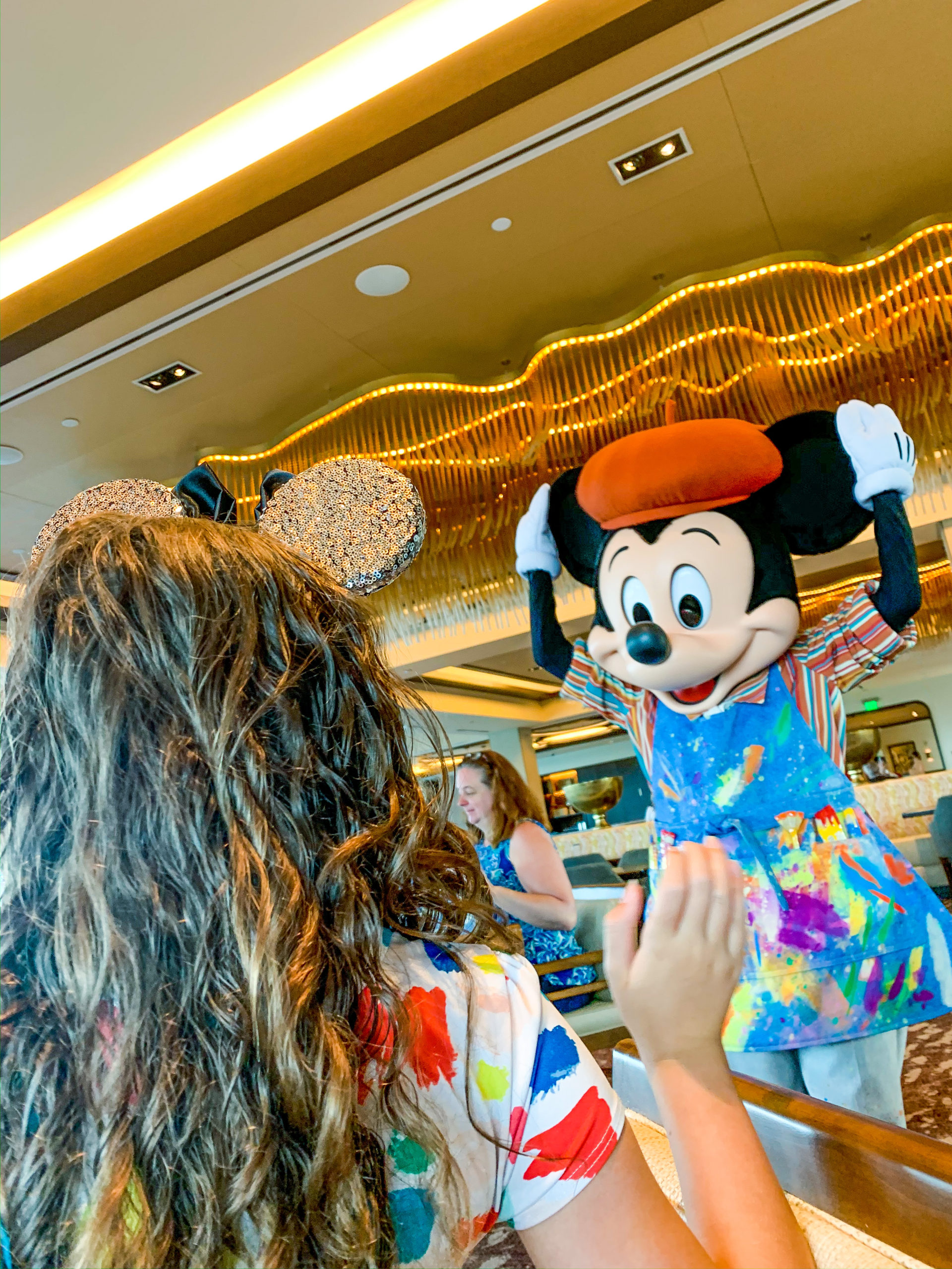 Dining At Topolino's Character Breakfast
