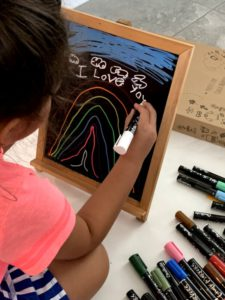Making Colorful Art With Chalkola