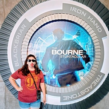 Having A Spectacular Time At The Bourne Stuntacular