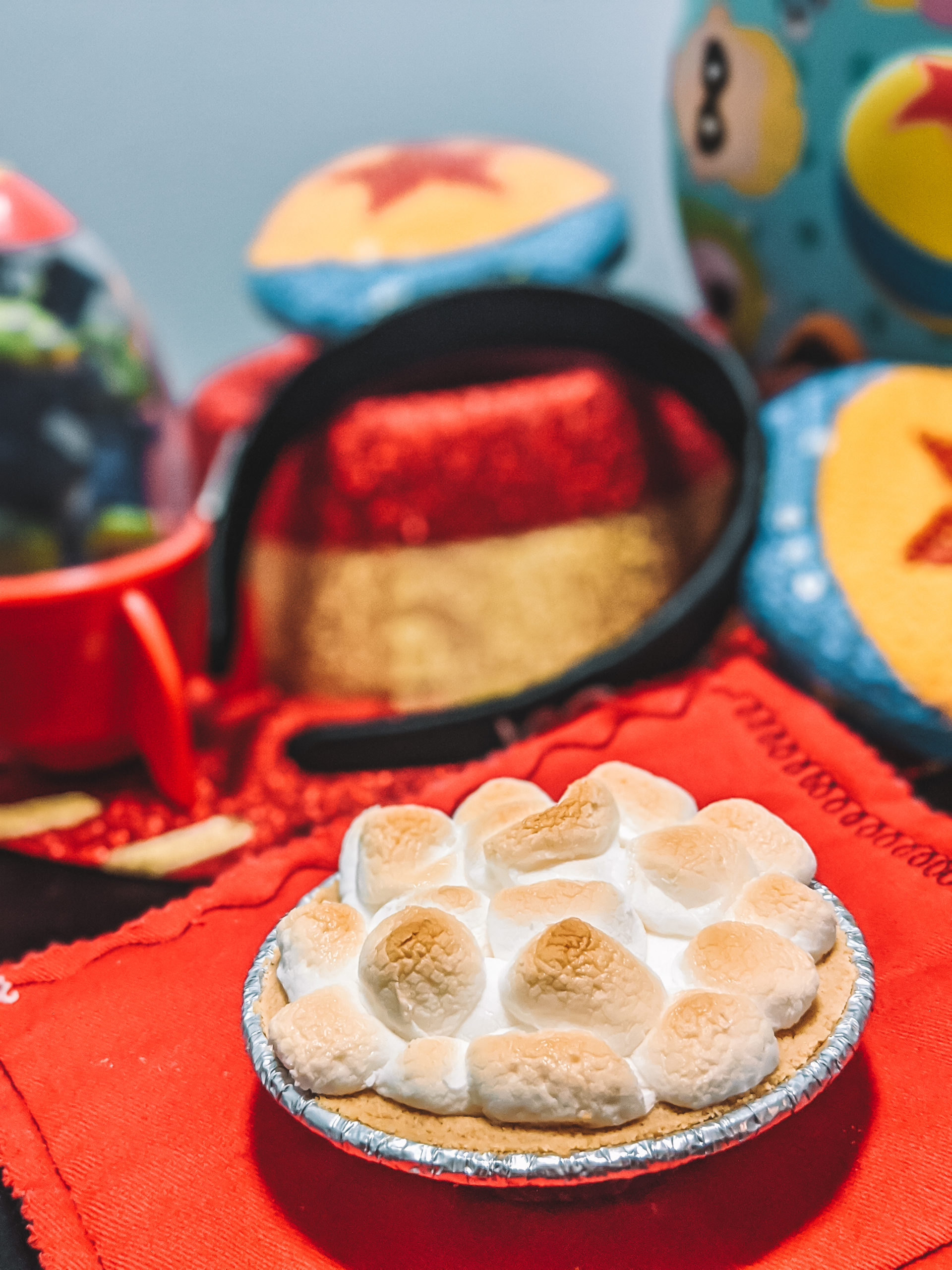 Disney Family Game Night With Woody's Campfire S'mores Tarts