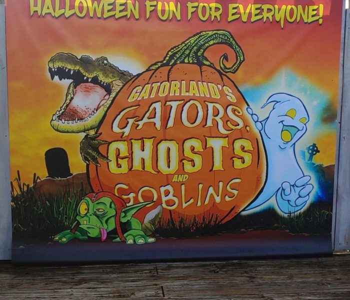 Celebrate The Halloween Season At Gatorland's Gators, Ghosts And Goblins
