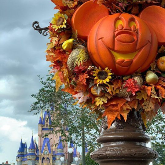 Halloween Fun At Disney's Magic Kingdom