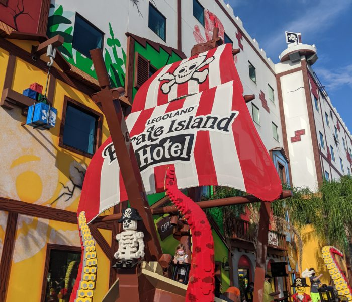 A Night At The Pirate Island Hotel