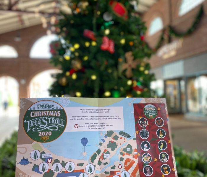 Disney Springs Christmas Tree Stroll Preview