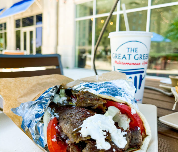 The Great Greek Mediterranean Grill At Skyhouse